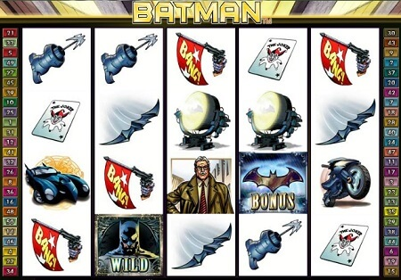 A Glance at Batman Online Slot for Internet Casino Players